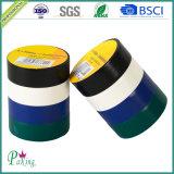 Bande électrique électrique adhésive de PVC de couleur noire