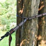 Porte des courroies d'arbre d'hamac de courroie d'hamac avec les boucles réglables