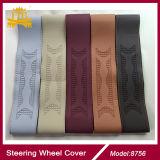 Cubierta material del volante del coche de Stiching de la corderina