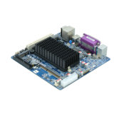 Het atoom N455 MiniItx Fanless bedde Industriële Motherboard 2 Com in