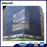 Cerca da lona da bandeira do engranzamento do PVC da impressão de Digitas (1000X1000 18X9 370g)