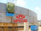 自動Horizo0ntalのシーム溶接機械(AGW)