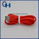 Cabo livre do USB do logotipo do OEM do fornecedor da fábrica cabo de dados colorido do USB dos fios do micro para o iPhone Samsung