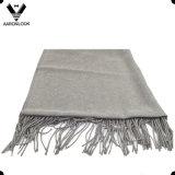 Равнина сплошного цвета женщин проверила обруч шали шарфа хлопка