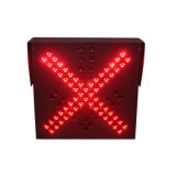 Indicatore luminoso rosso del segnale stradale di verde LED dell'alta di modo stazione del tributo