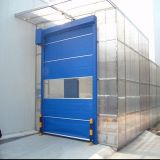 Porte à grande vitesse d'obturateur rapide flexible de PVC de haute performance (HF-K16)