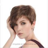 Außenhandel-Form-Funktionseigenschaft-lose geneigte Knall-Haar-Perücken