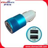 셀룰라 전화 2 USB 이동할 수 있는 힘 휴대용 여행 차 충전기