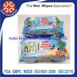 Fabricante molhado do Wipe do bebê anti-bateriano do competidor quente da boa qualidade da venda de China