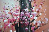 Canvas Large Modern Wall Art Decoration에 손으로 그리는 Abstract Plum Blossom Flower Oil Painting