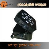 Lumière sans fil à télécommande d'intérieur de batterie de DMX512 LED