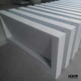 Weiße feste Oberflächenbadezimmer-Wand hing Wäsche-Bassins