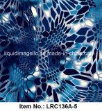 Película de la impresión de la transferencia del agua, película hidrográfica, impresión Lrc136A-5 de la transferencia del agua