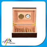 Boîte à cigares d'humidificateur de cèdre de qualité de prix usine