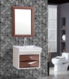 Wall Mounted semplice Waterproof Bathroom Cabinet con Mirror