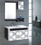 Cabina montada en la pared del PVC de la alta calidad con el espejo