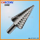 Taladro del paso del HSS con la flauta recta (SSHS)