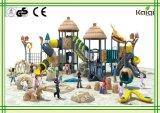 Patio al aire libre del tema del dinosaurio de la serie antigua de la tribu del grupo de Kaiqi para los niños divertidos