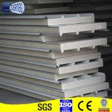 Gewölbtes vorgestrichene galvanisierte Stahl-PU-Zwischenlage-Panel-/Dachpanel/Wand