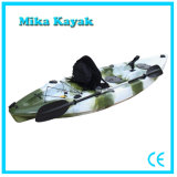 Singolo Sit su Top Kayak Fishing Boats Plastic Canoe da vendere