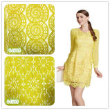 Платья 2016 ткань шнурка Spandex нового вспомогательных оборудований одежды конструкции химически