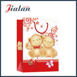 Dia dos Namorados Lovely Bear Fashion Shopping Portrier Gift Paper Bag