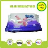 Ткань младенца OEM радушная безалкогольная естественная с хорошим качеством