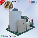 Guangzhou-schnelles Abkühlen frisch oder Salzwasser-Flocken-Eis-Maschine