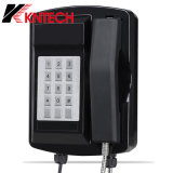 Téléphone Knsp-18 Kntech de SIM de téléphone VoIP de téléphone de tunnel