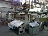 Utilizado de la coextrusión de tres capas Acarrear-apagado la cadena de producción rotatoria de la película