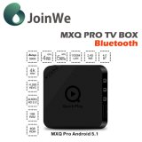 4k Android 5.1 S905 BT 4.0 intelligenter Mxq PROfernsehapparat-Kasten