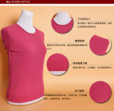 Yak-Wolle-/Kaschmir-runde Stutzen-Pullover-Strickjacke/Kleid/Kleidung des Mädchens/Strickwaren