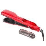 El pelo endereza el vapor creativo de la enderezadora del pelo el FAVORABLE cepillo del vapor del peine