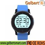 Reloj elegante Bluetooth de la salud de Gelbert de la muñeca impermeable del deporte