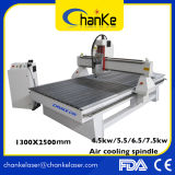 Ck1325 Perfil de alumínio 3kw Wooden Door / Furniture Wood Working Machine