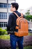 Желтый Многофункциональный Двойной Backpack Компьтер-книжки Школы Застежки -молнии Cl3005