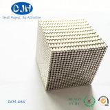 Zylinder NdFeB Neodym-Magnet der seltenen Massen-N50 gesinterter