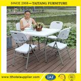 庭白の党のためのプラスチック折りたたみ椅子