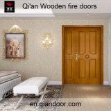 Парадный вход пожара Двойн-Листьев Veneer Teak деревянный