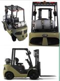 Forklift do Un 1.8t LPG com o motor original de Nissan K21 (FL18T)