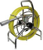 Sistemas Self-Leveling da câmera da inspeção do encanamento da drenagem do esgoto da tubulação, função de DVR, contador do medidor, 60m, cabo de 7mm