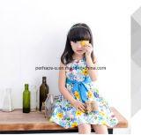 Qualitäts-Mädchen-Blumen-Kleid-Sleeveless Kind-Abnützung