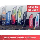 Indicador promocional de la playa de la pluma de la publicidad al aire libre para la venta al por mayor