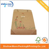 Printing modificado para requisitos particulares Kraft Paper Bag con Handle (QYCI1539)