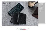 A forma quente da venda 2016 ensaca a carteira do cartão do couro genuíno