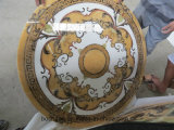 Marble Polished Floor Waterjet Medallion per Inner Decoration