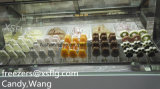 Showcase das varas e do gelado/congeladores do gelado de Gelato