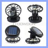 Ventilateur de refroidissement Mini ventilateur solaire portable Ventilateur Ventilateur Ventilateur Ventilateur de camping