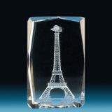 3D Fotografische Machine van het Glas van de Gravure van de Foto voor de Druk van het Kristal