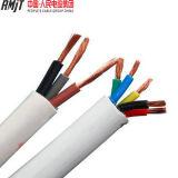 Elektrisches kupferner Draht-flexibles Kabel der Belüftung-Isolierung Belüftung-Hüllen-3X1.5mm